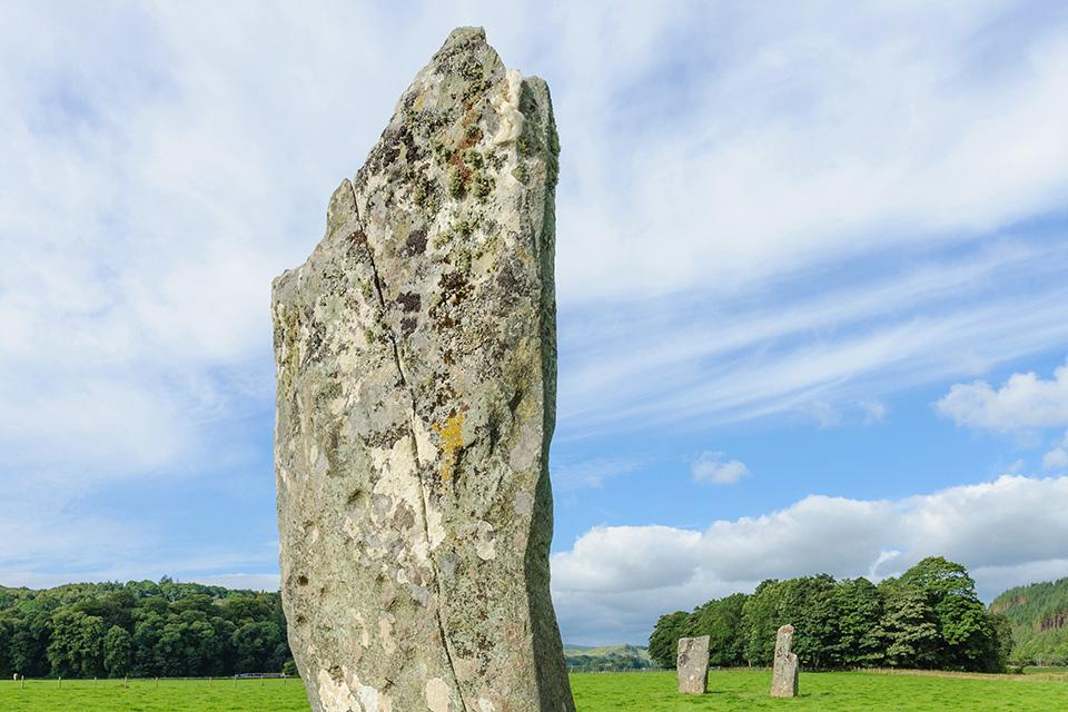 Kilmartin Glen Standing Stones - Sacred Pilgrimage to Scotland