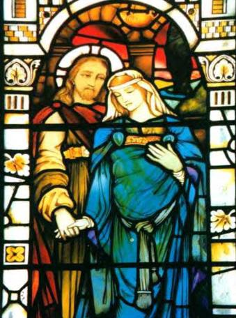 Kilmore Church Pregnant Mary Magdalene