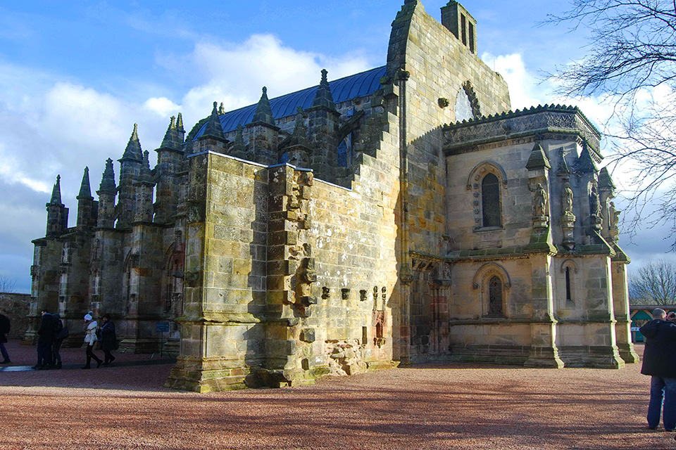 Rosslyn Chapel in Scotland | Sacred Mystical Journeys