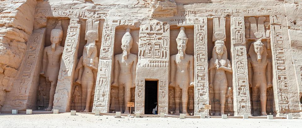 The Temple of Nefertari at Abu Simbel