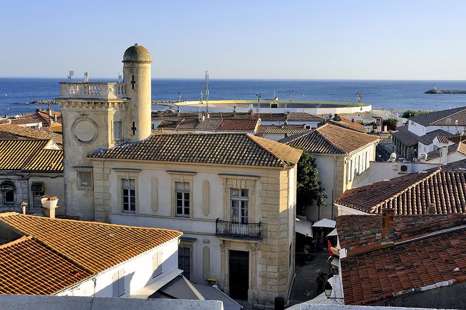 Overview of Saintes Maries de la Mer