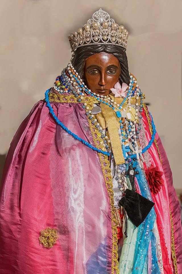 The Black Madonna Portraying Saint Sarah in Saintes Maries de la Mer
