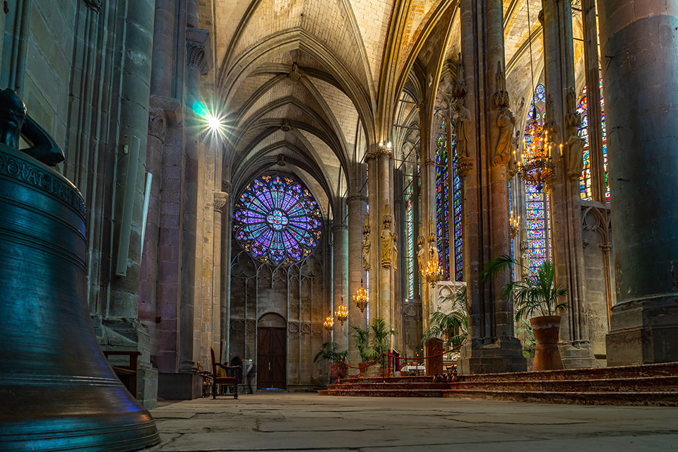 Carcassonne Cathedral of Saint Nazaire | Sacred Mystical Journeys