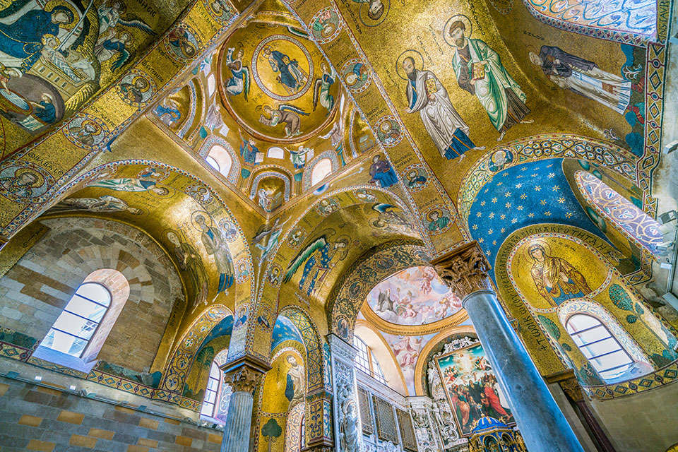 Cathedral of Saint Mary of the Admiral in Sicily - Sacred Mystical Journeys