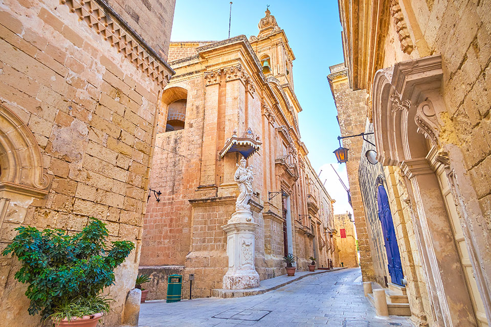 Streets of Mdina, the Capital of Malta | Sacred Tour of Malta and Sicily