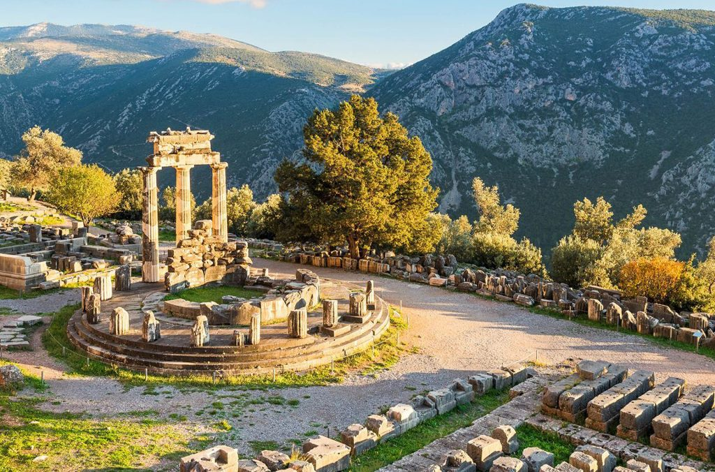Oracle of Delphi, Athens