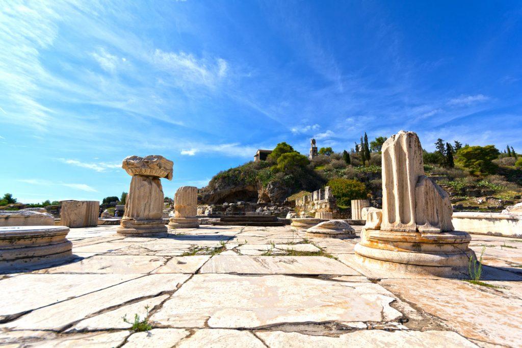 Ruins Sanctuary in Eleusis