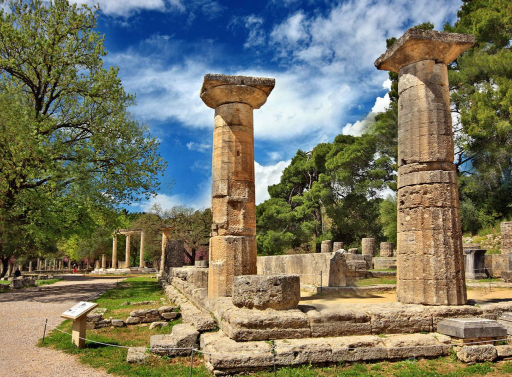 Temple of Hera of Olympic Games