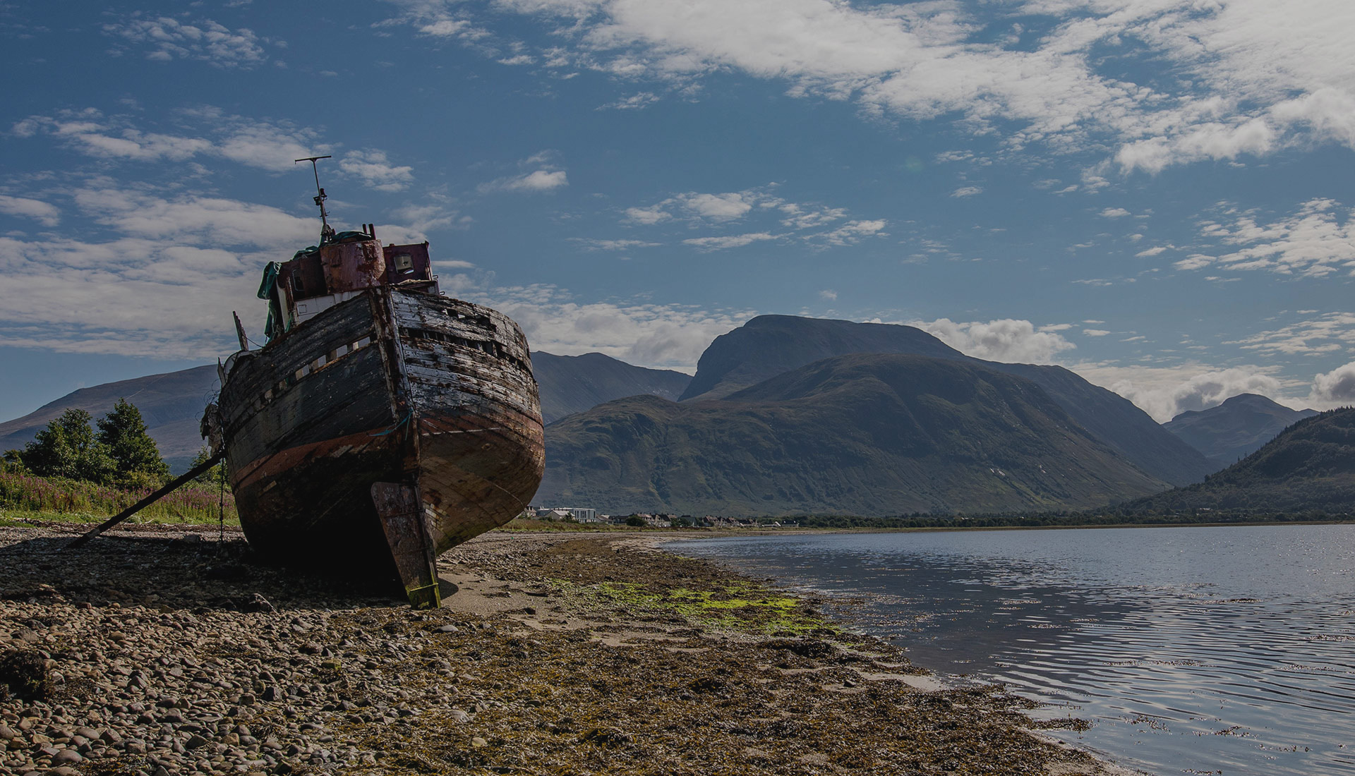 Sacred Tour of Celtic Scotland - Shipwreck at Fort William | Sacred Mystical Journeys